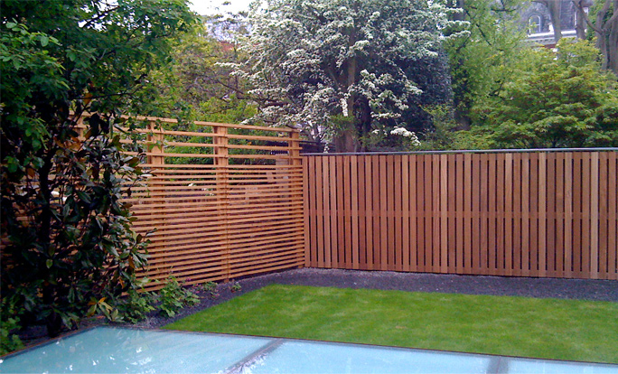 Bespoke design manufacture of contemporary trellis for Contemporary garden trellis designs